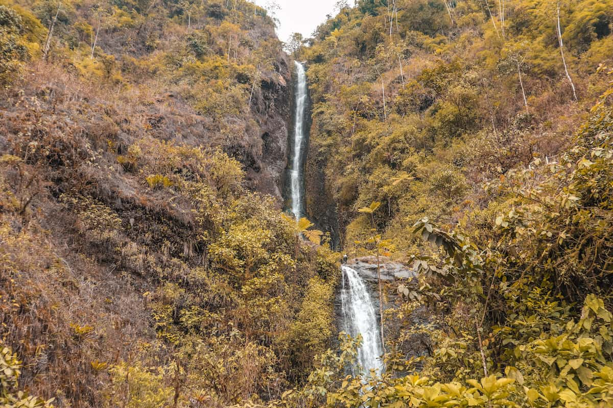 Las cascadas de Piedra Blanca