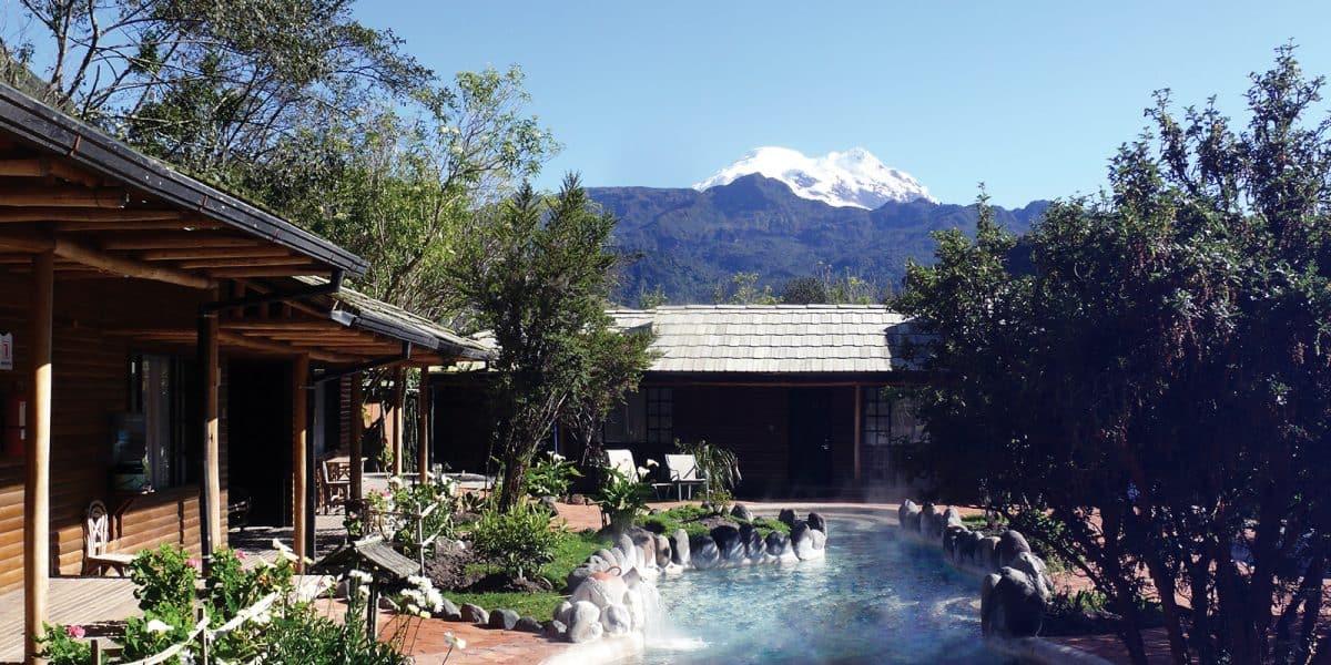 Lugares Turisticos cerca de Quito - Las Termas Papallacta