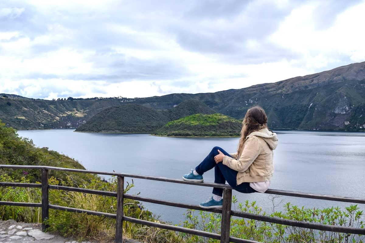 Laguna de Cuicocha - que hacer en Otavalo
