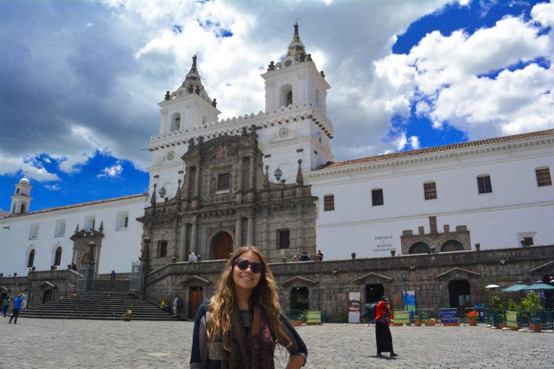 El convento de San Francisco de Quito