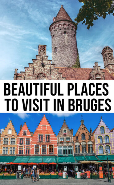 Beautiful places to visit in Bruges in one day
