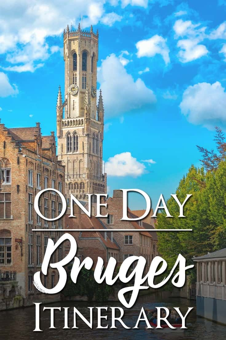 Complete One day itinerary of things to do and see in Brugge