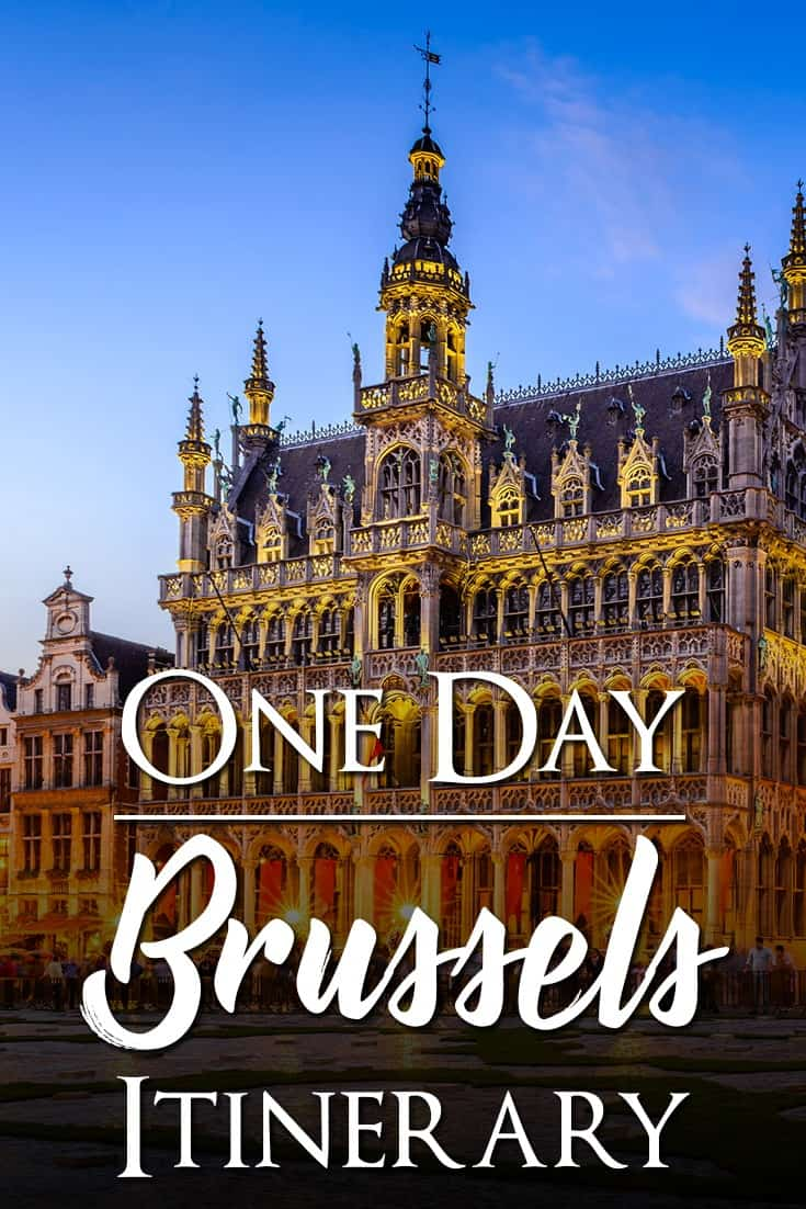 Complete One day itinerary of things to do and see in Brussels