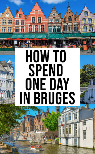 How to spend one day in Bruges
