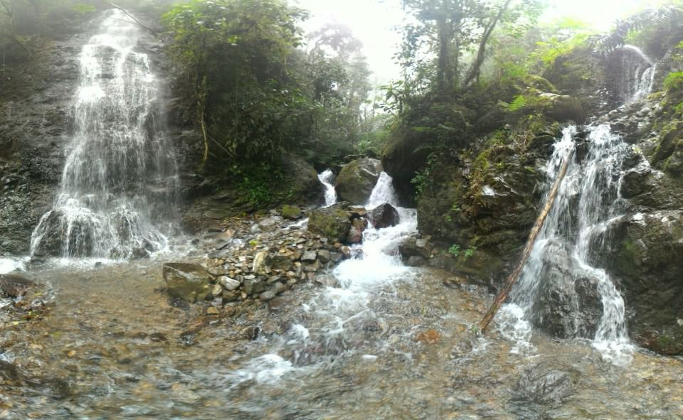 Cascada El Progreso, Waterfalls of Bucay, Ecuador