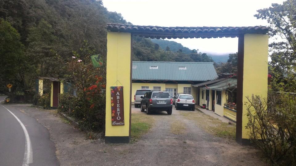 Los Armadillos Café, outside of Nanegalito, Ecuador