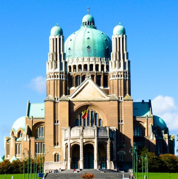 Basilica sacred heart brussels