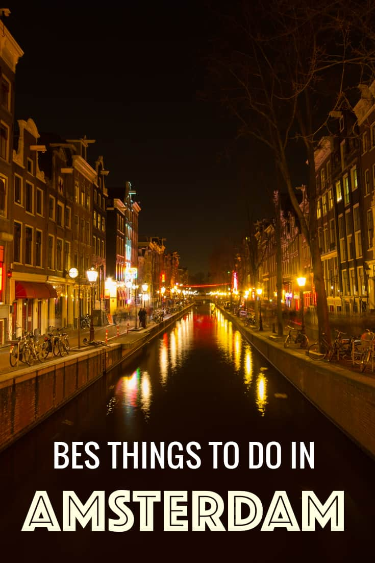 The best things to do in Amsterdam
