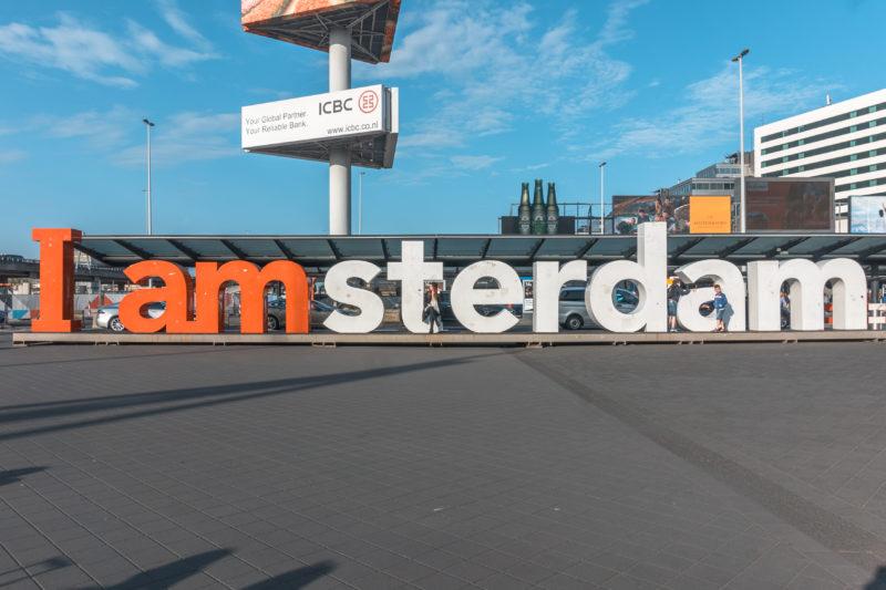 Señalética de Iamsterdam