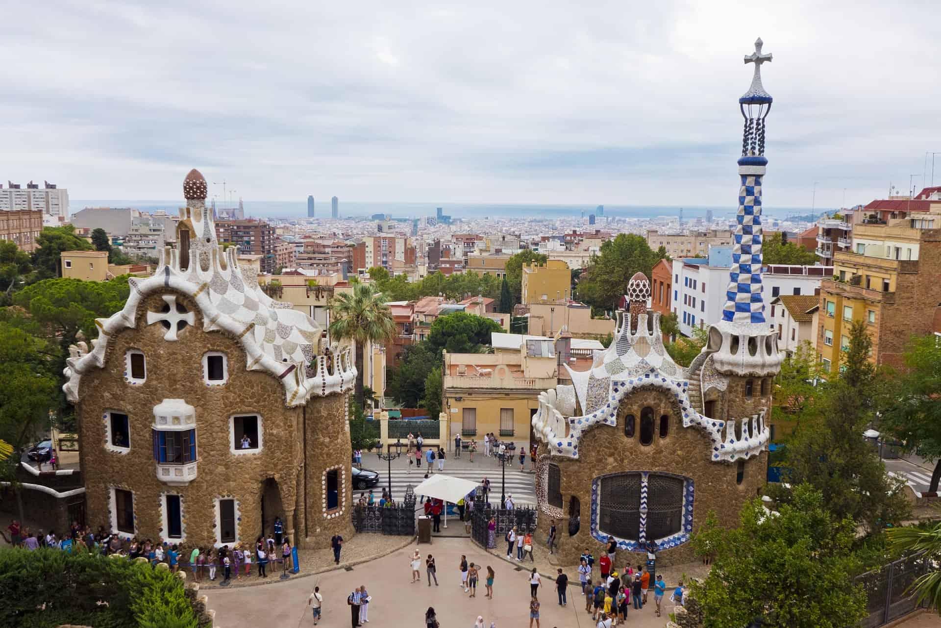 Park Guell - Obras de Gaudí