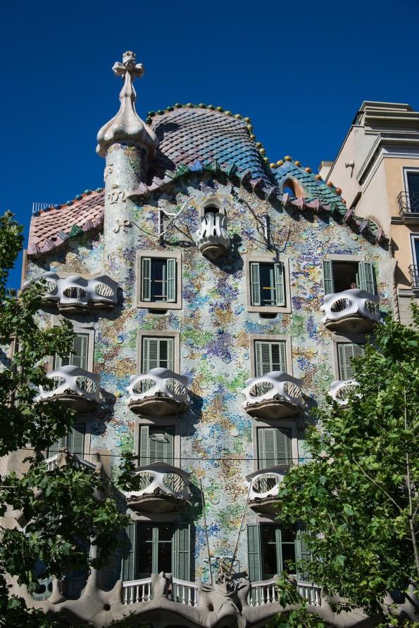 Caso Batlló - Obras de Gaudí