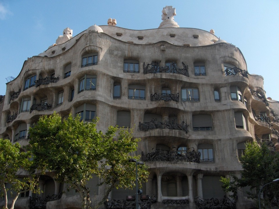 gaudi house barcelona, spain