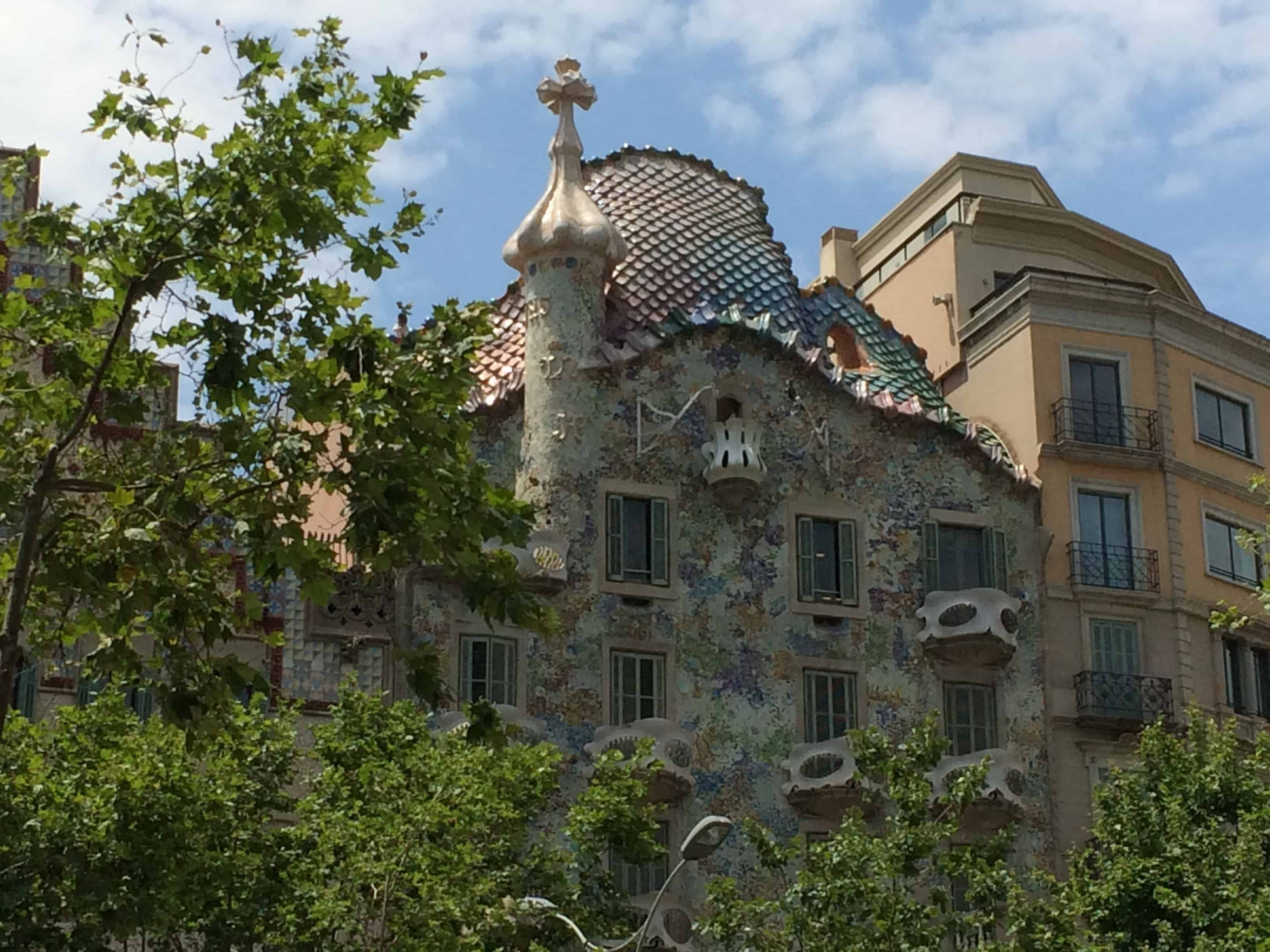 El Passeig de Gràcia Gaudi