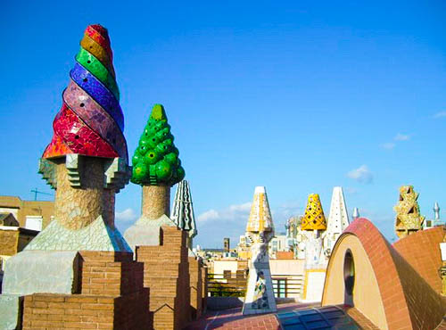 palau guell - Obras de Gaudí
