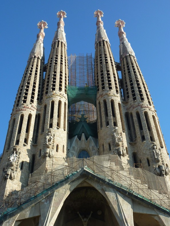 sagrada familia Barcelona, Spain