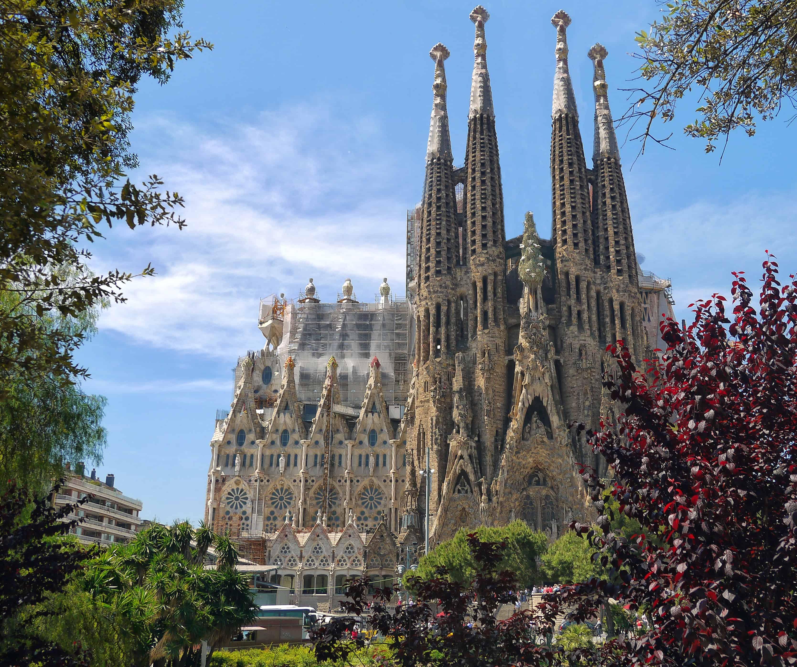 La Sagrada Familia - Cosas que hacer en Barcelona