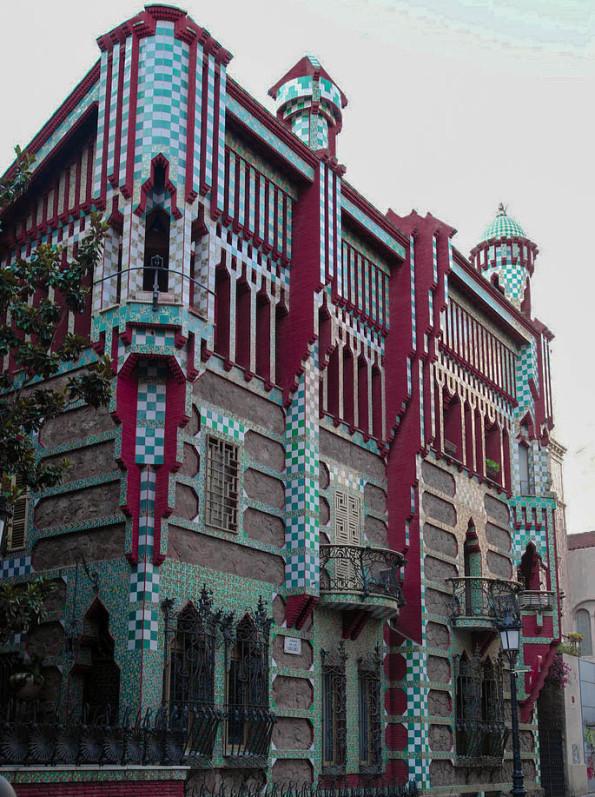 Casa vincens Gaudi en España