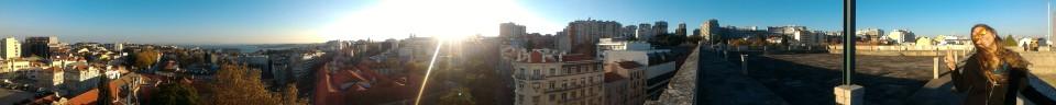 Lisbon, Portugal Panoramic