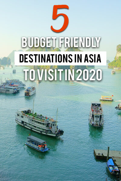 5 Budget friendly destinations in Asia