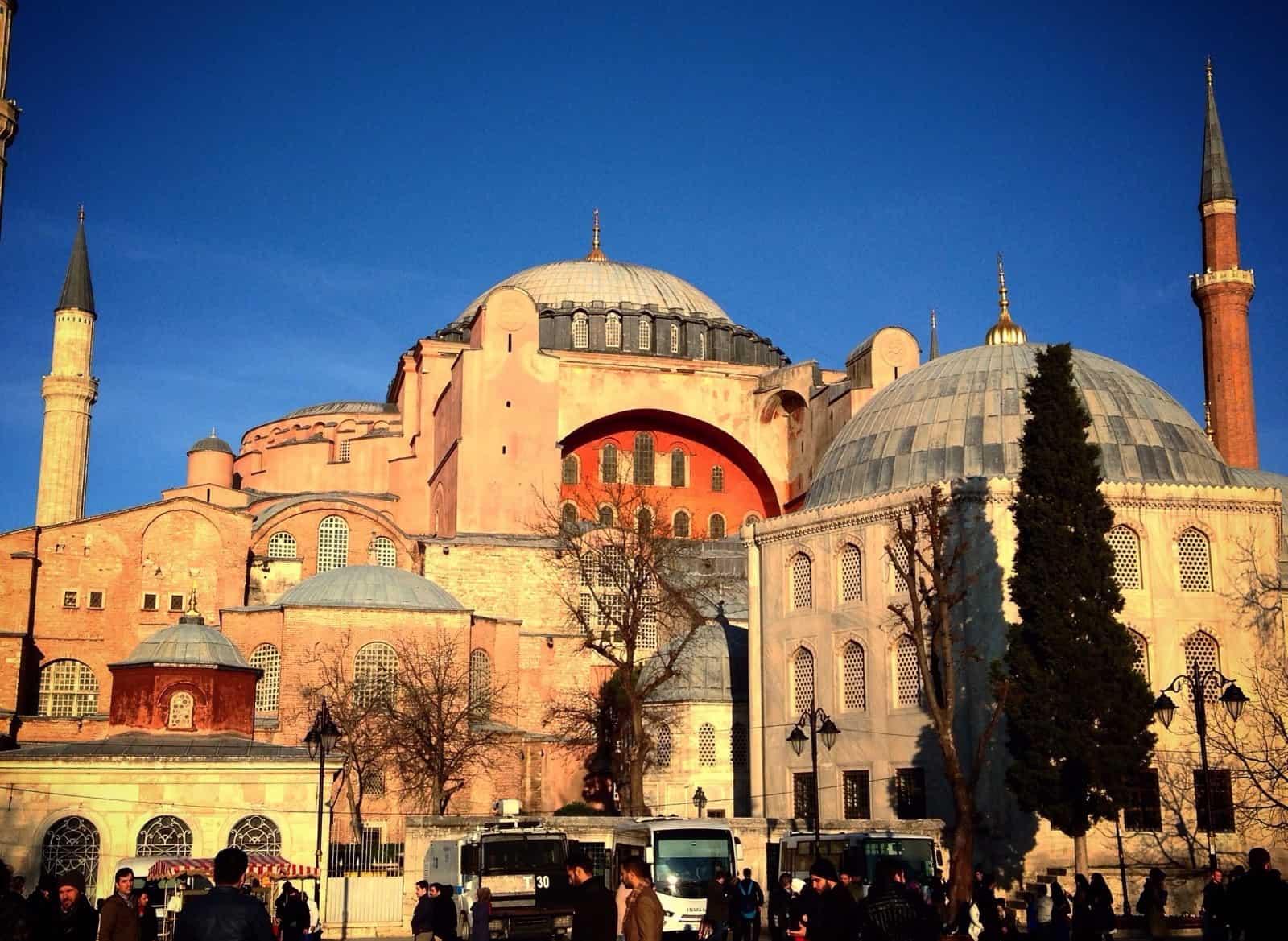 Atardecer en Santa (Hagia) Sofía