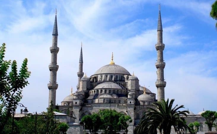 Sultan Ahmed Mosque (Blue Mosque- Mezquita Azul) uno de los lugares que ver en Estambul