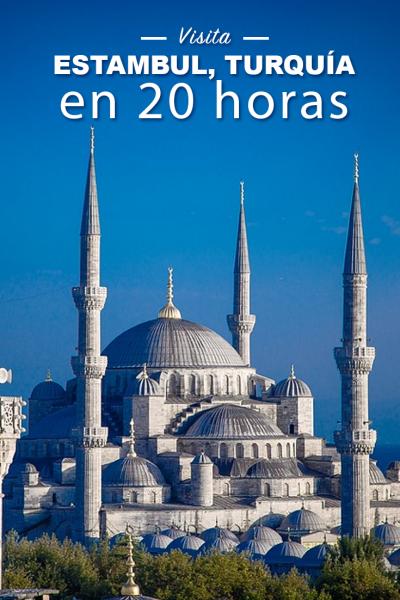 Lugares que ver en Estambul, Turquía, durante una escala larga de 20 horas