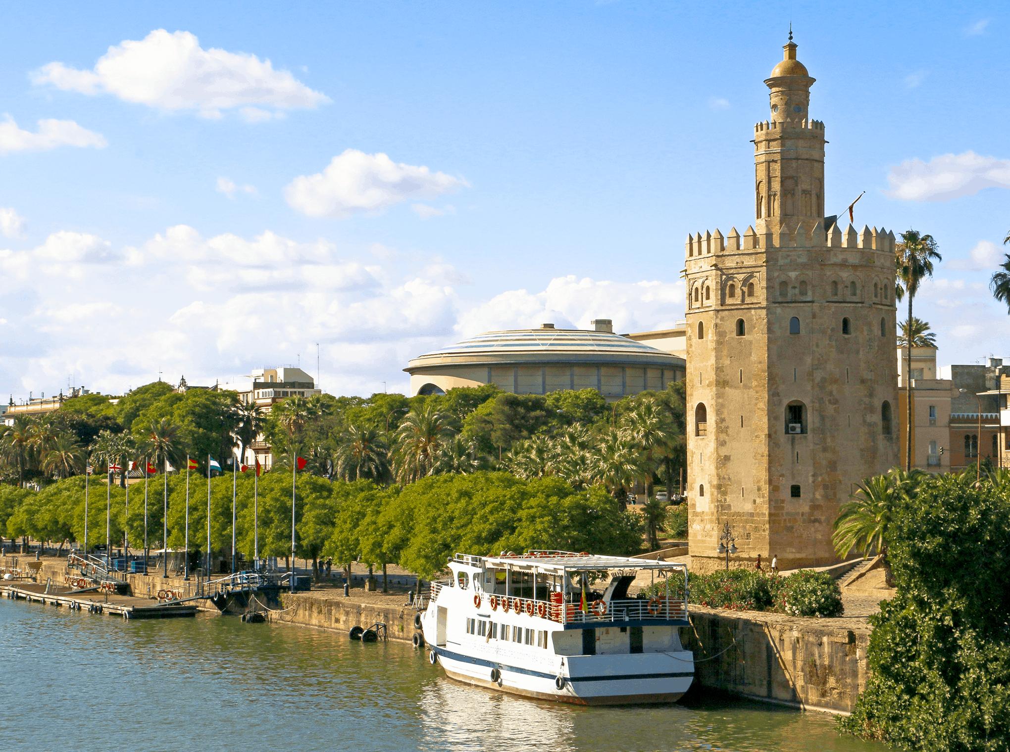 La Torre dorada Sevilla