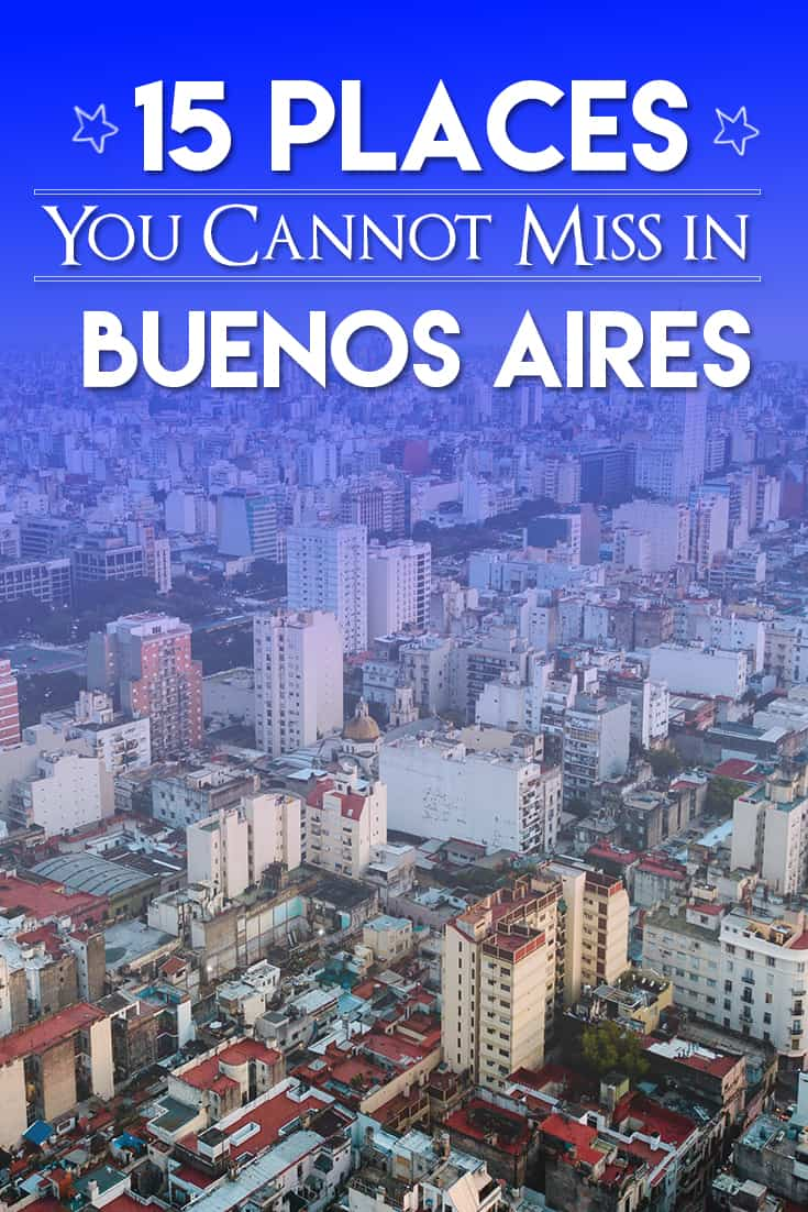 15 places to visit in Buenos Aires