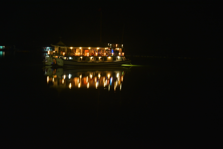 Night on Ha Long Bay