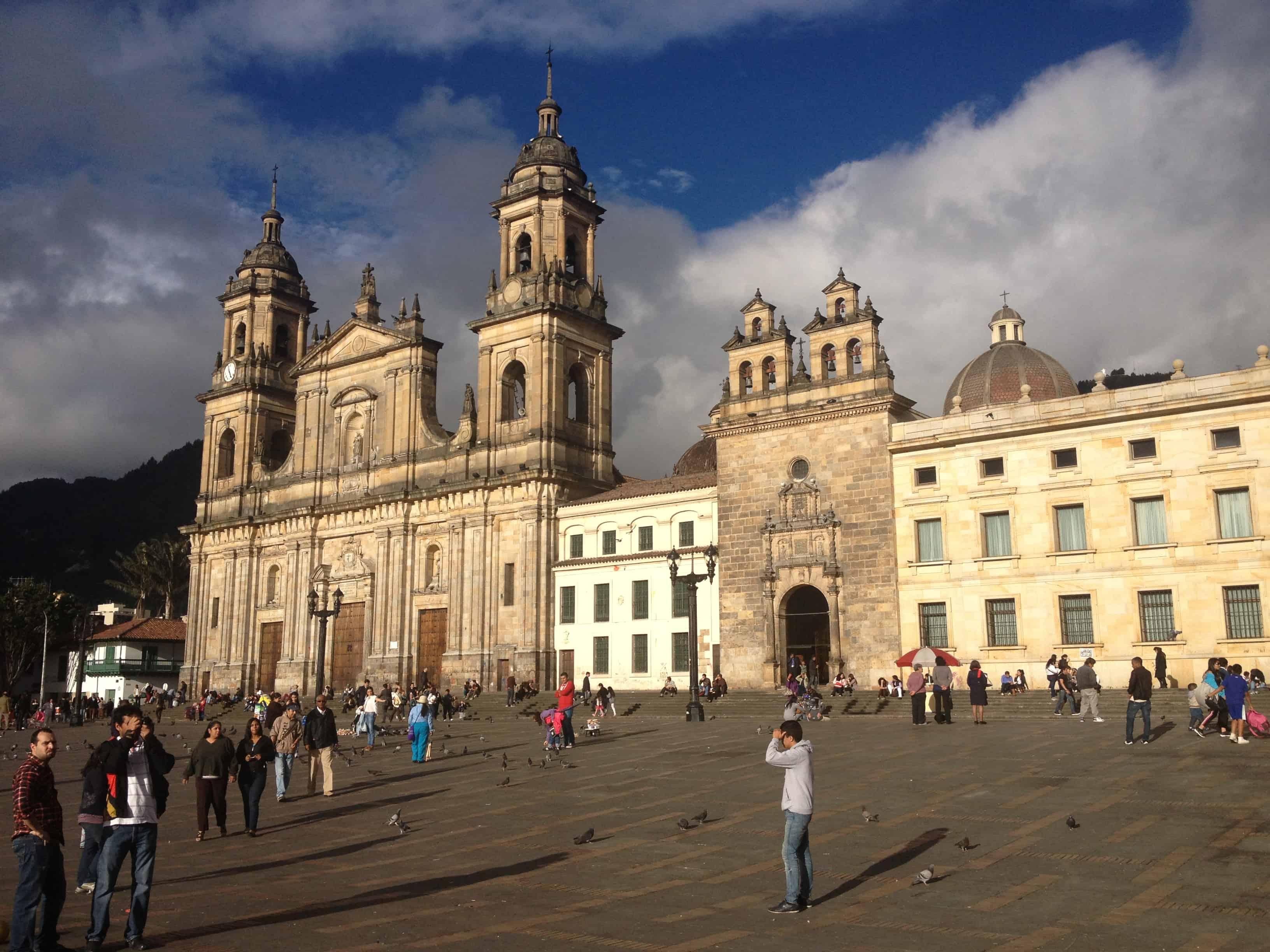 Plaza Bolívar Bogota Colombia