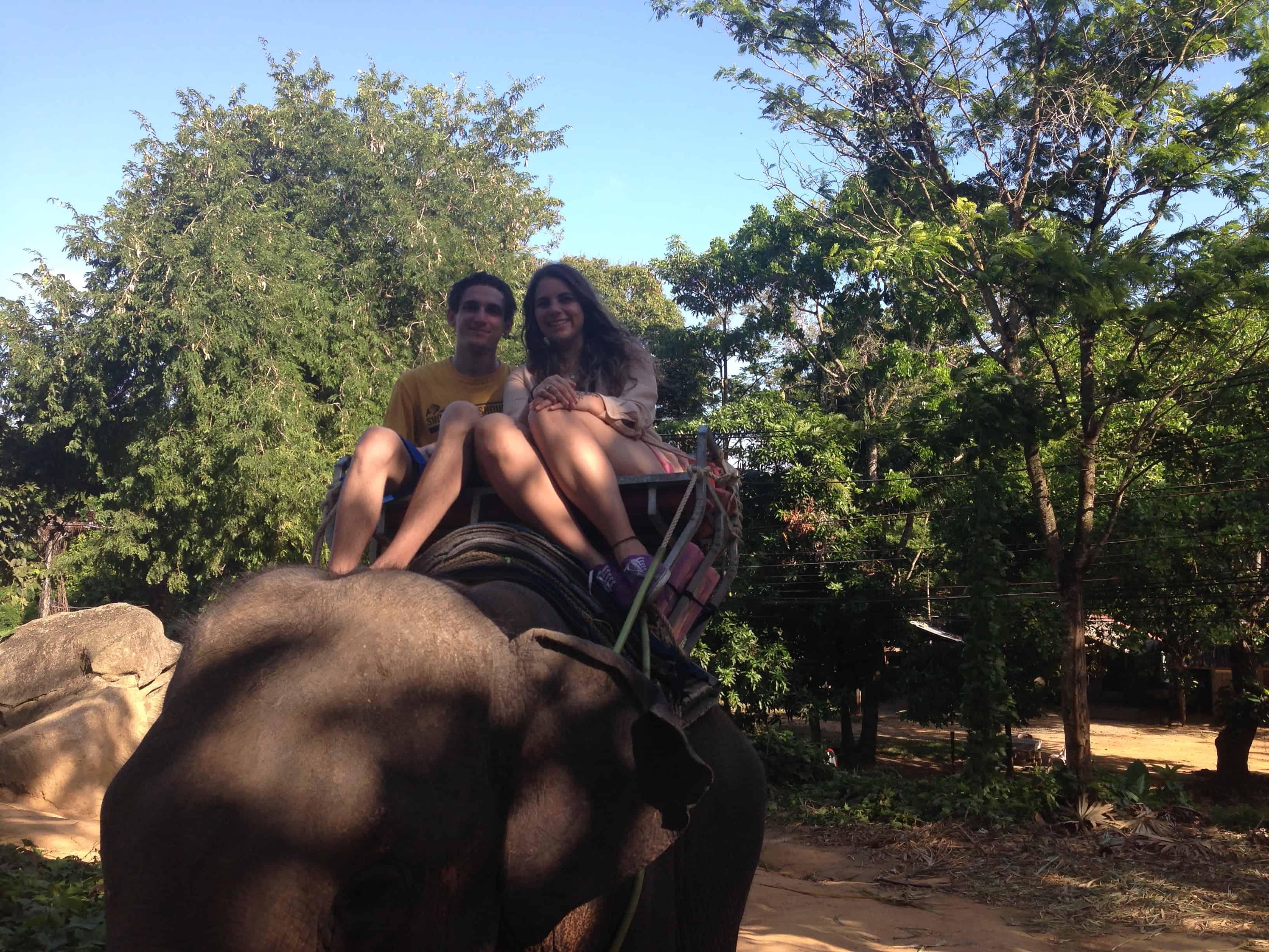 turismo de elefantes en tailandia