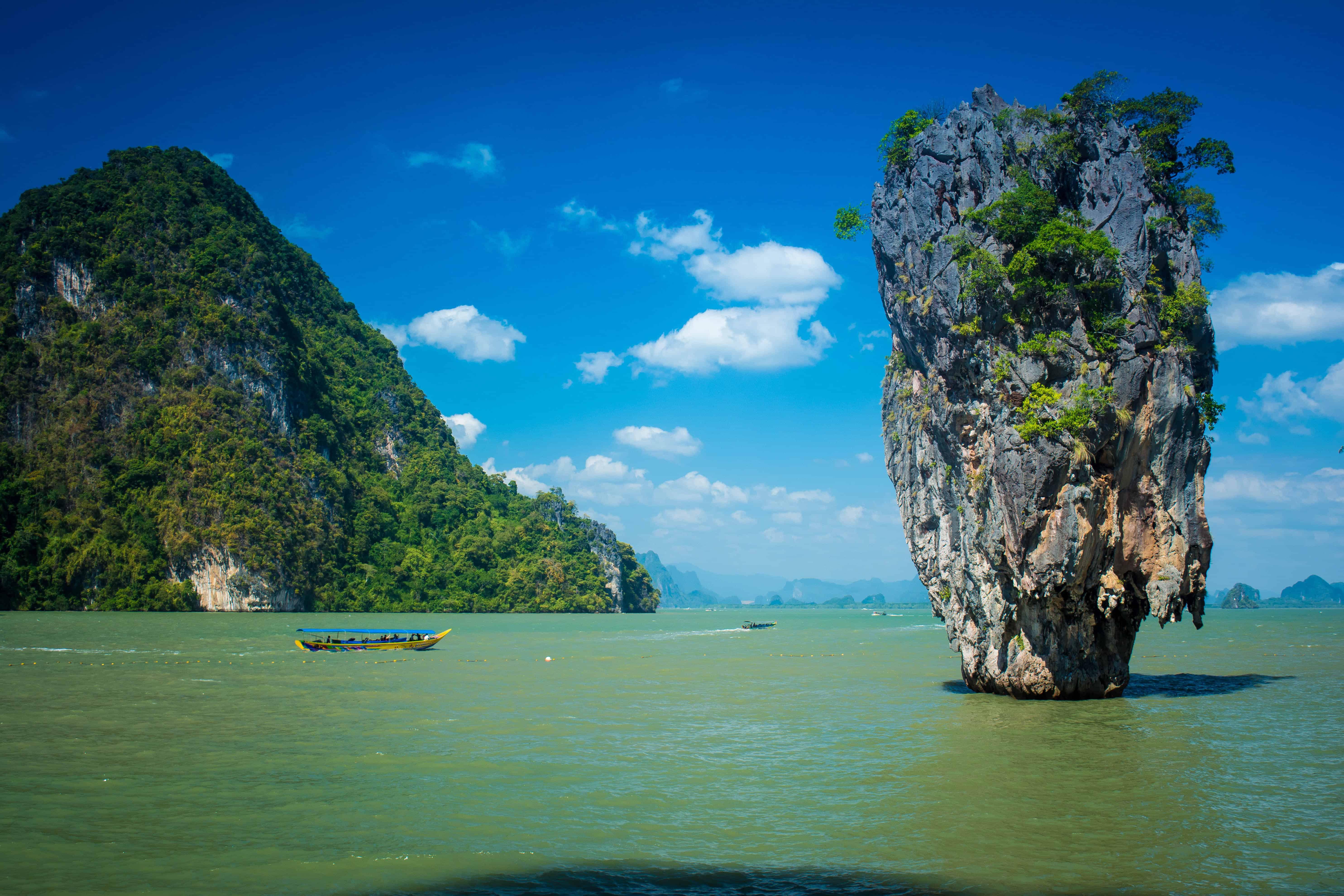 Phan Gna Bay to see where the James Bond movie was filmed