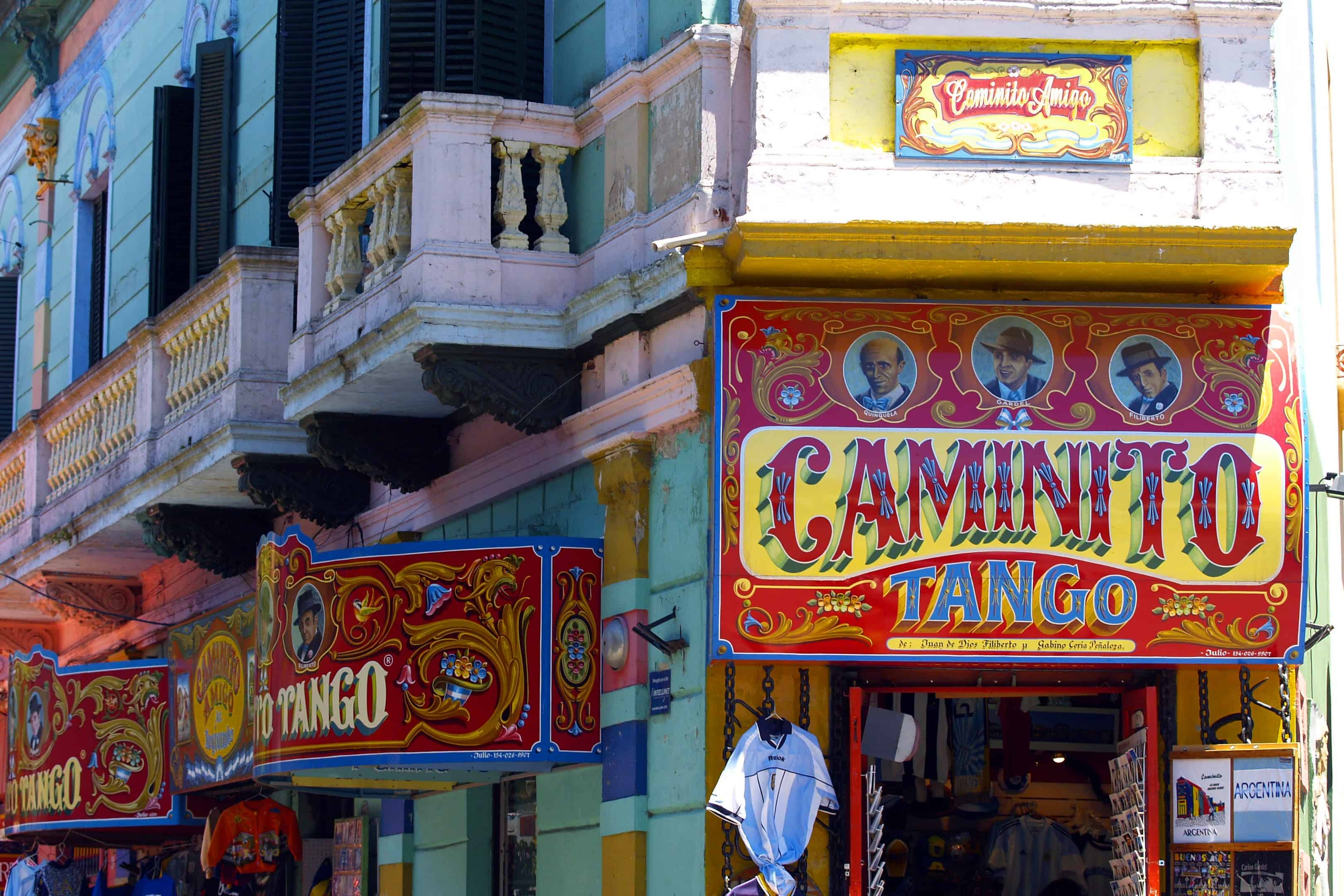 Caminito in La Boca Neighborhood