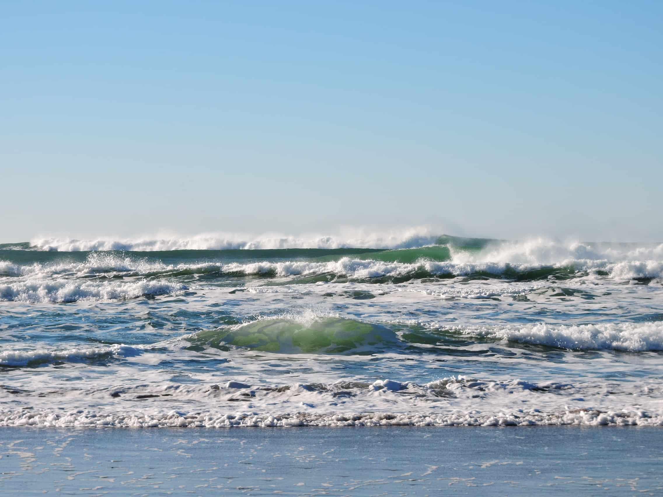 Playas en la ruta del Spondylus