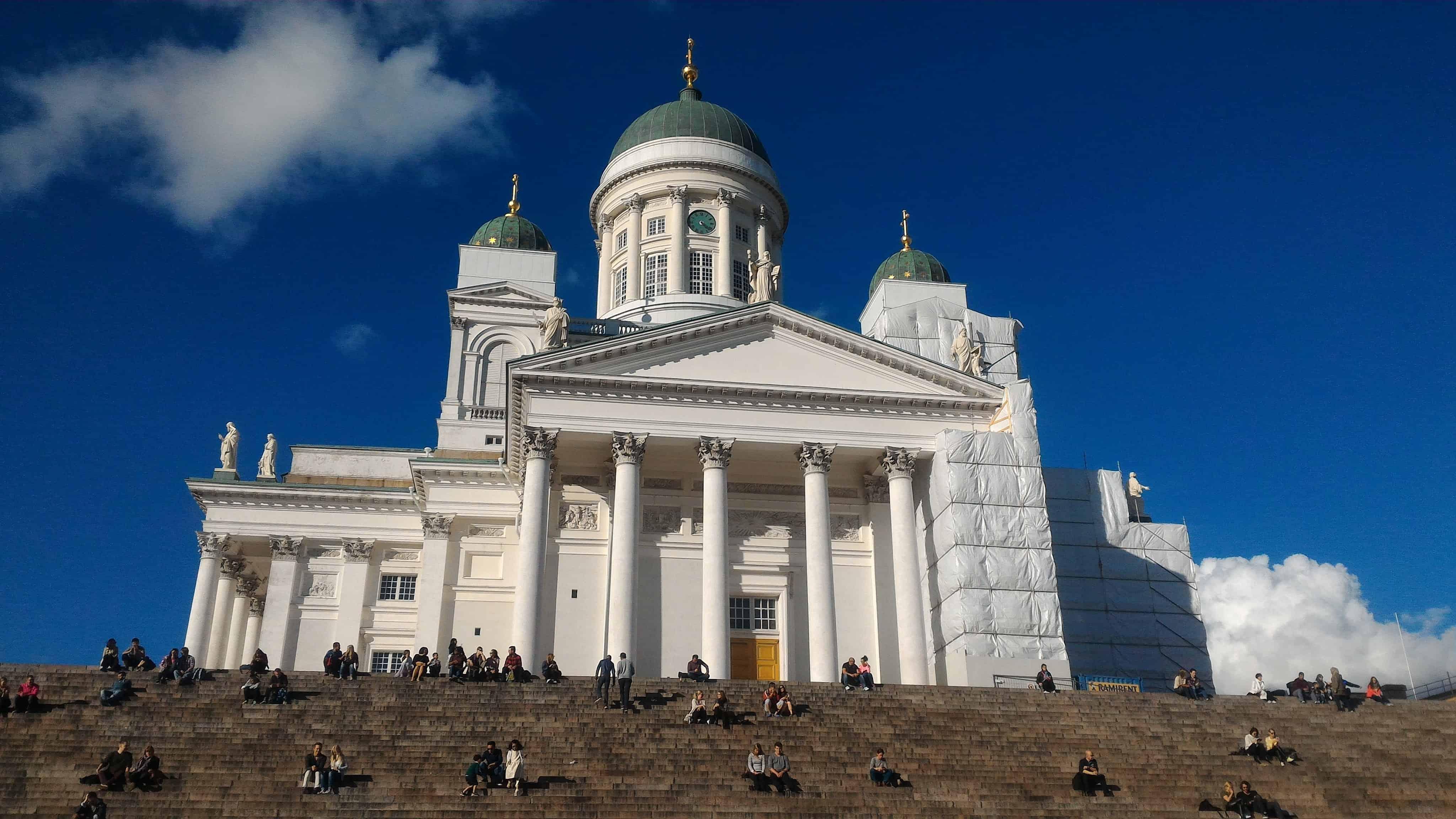 Helsinki Cathedral- Senate Sqaure