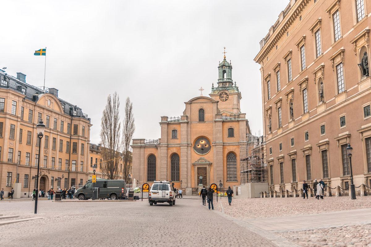 Stockholm Slottsbacken