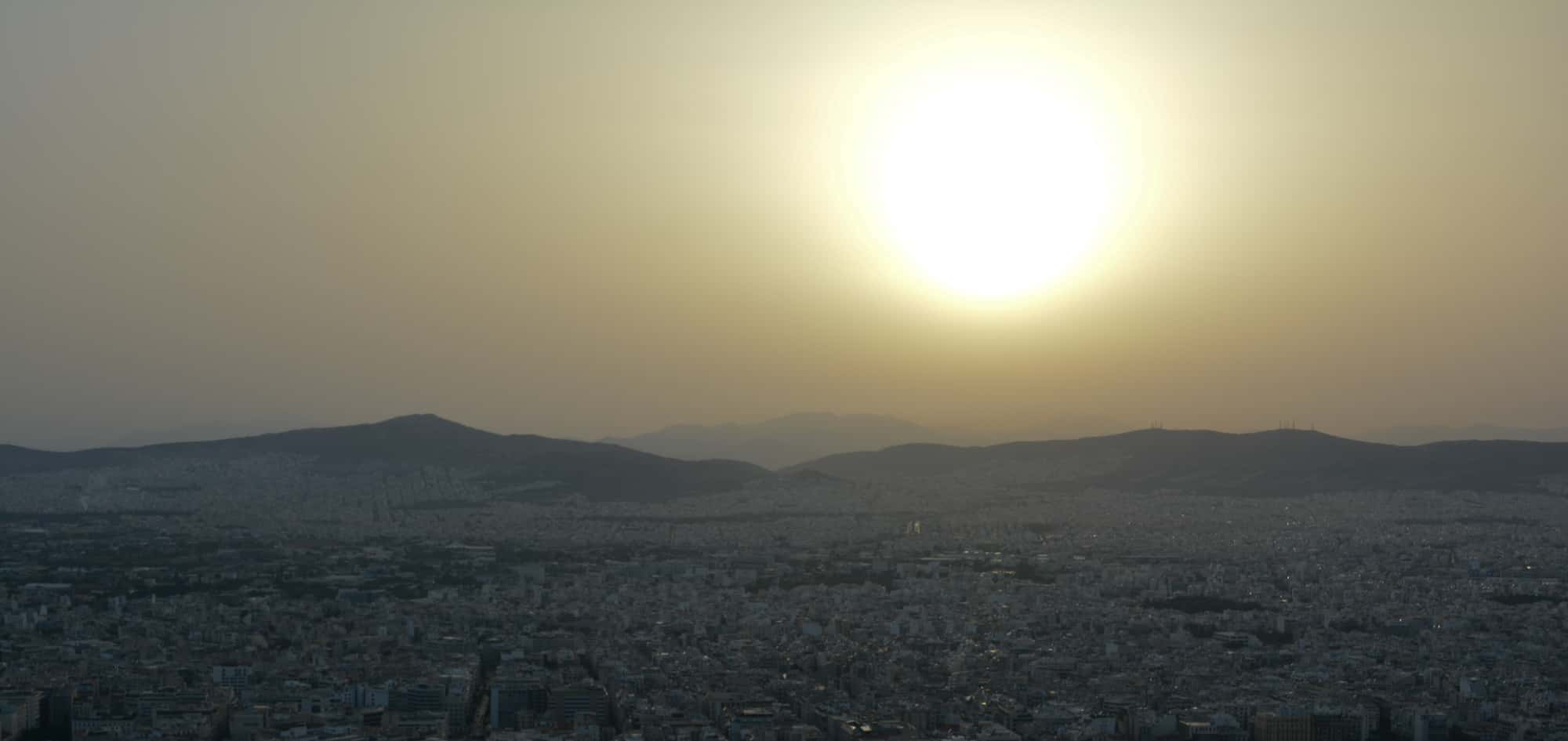 Mount Lycabettus Sunset