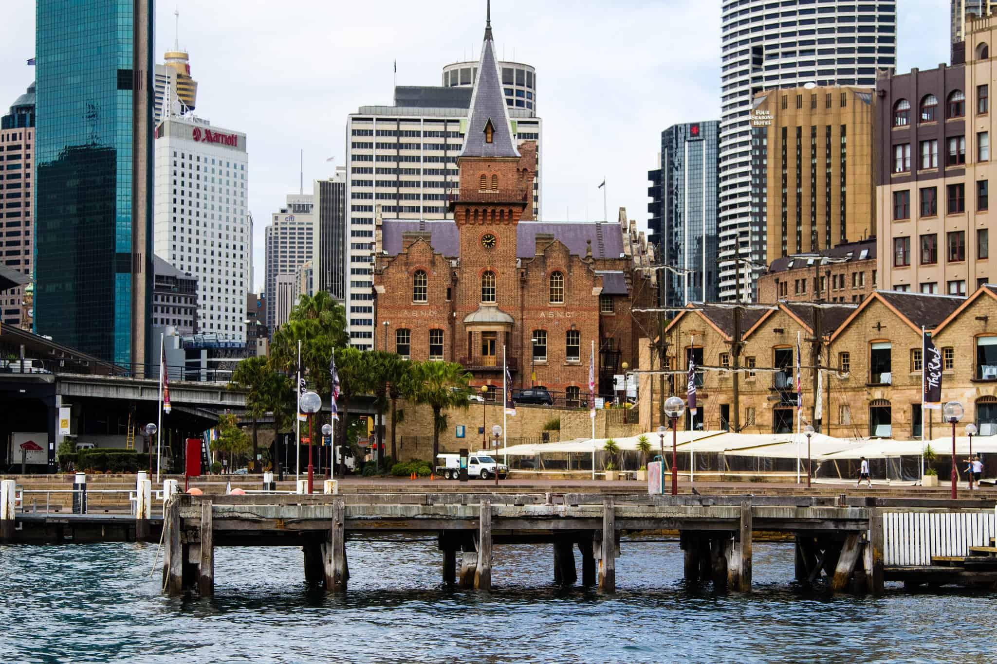 parque de Dawes Point - Que ver en Sydney