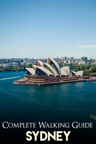The most complete walking guide to Sydney.