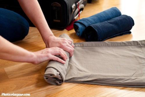 como hacer una maleta de viaje