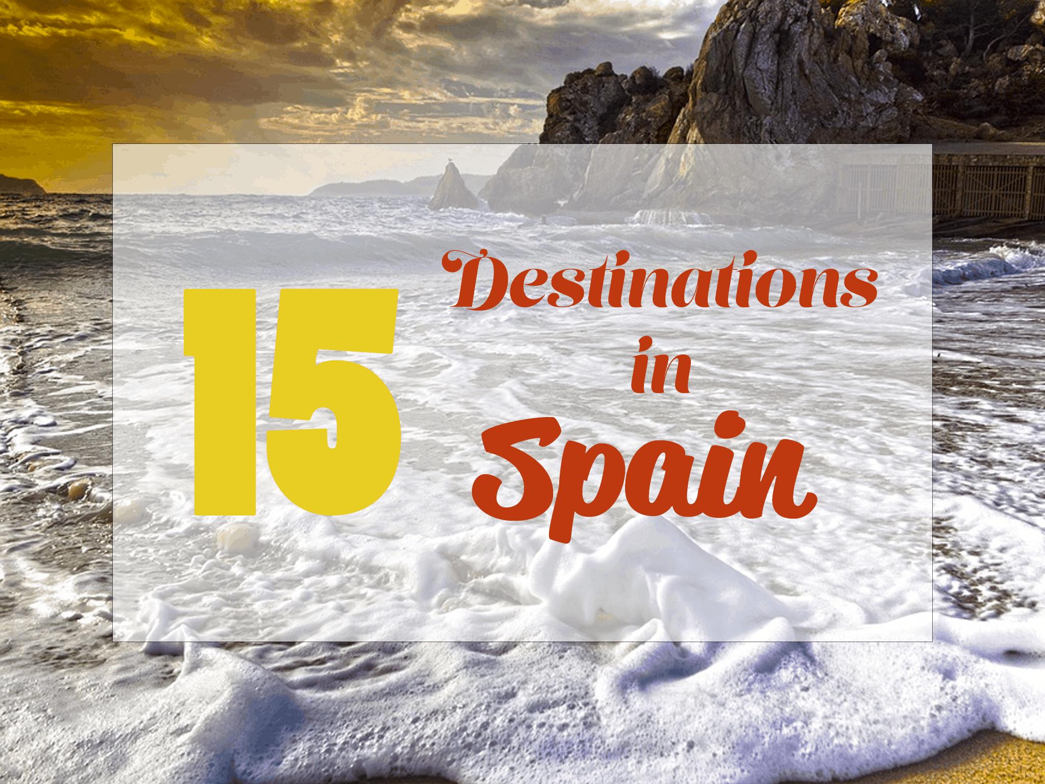 top 15 destination in spain