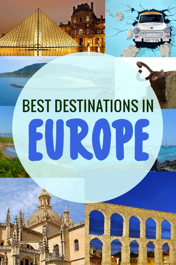 Best destinations to visit in Europe in 2019