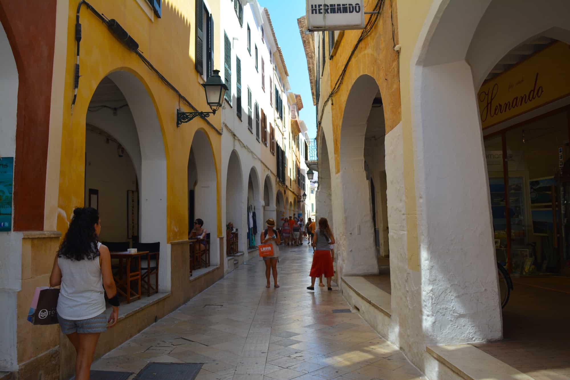 Ses Voltes, Menorca