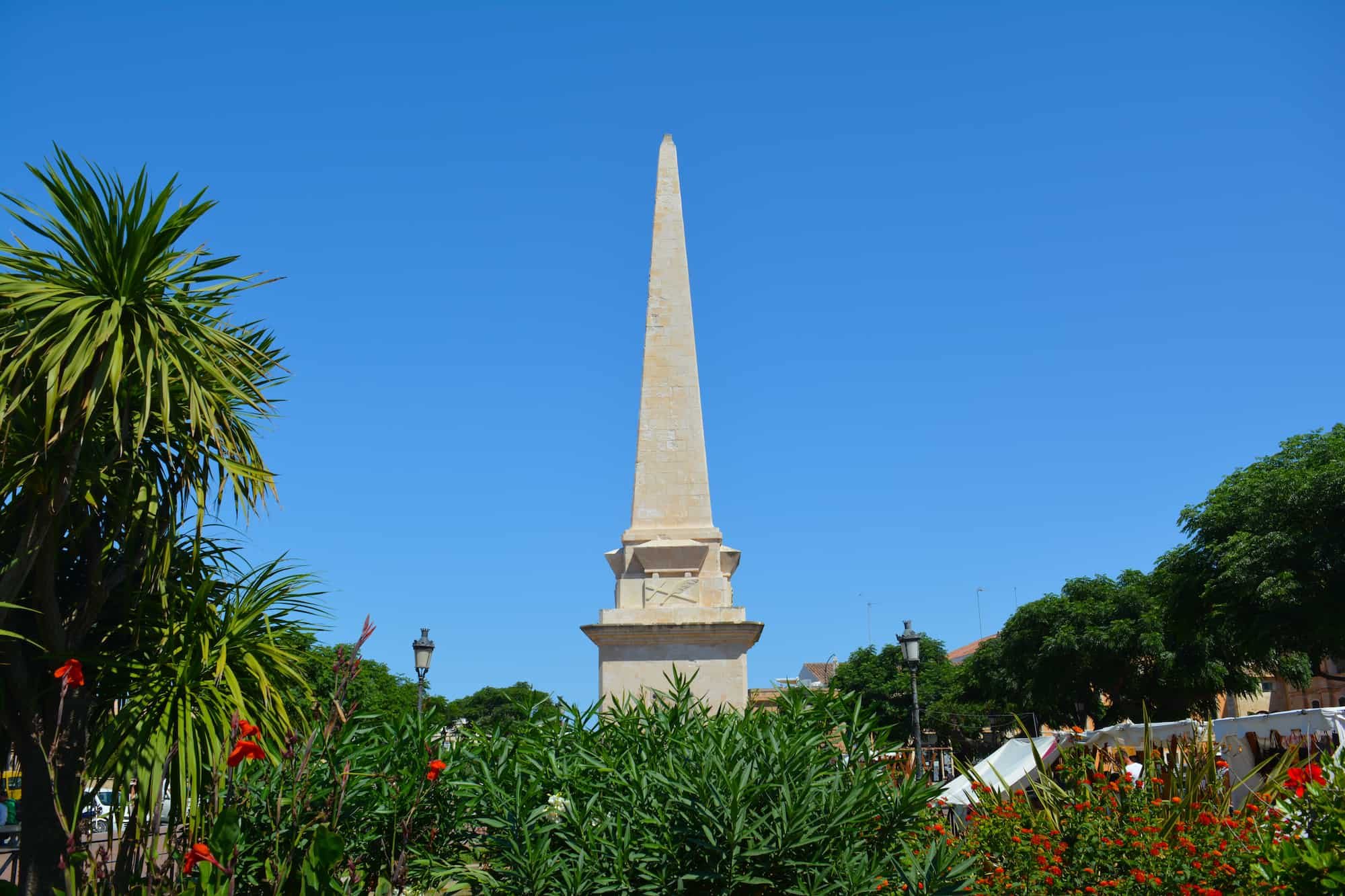 Obelisk Ciutadella Menorca