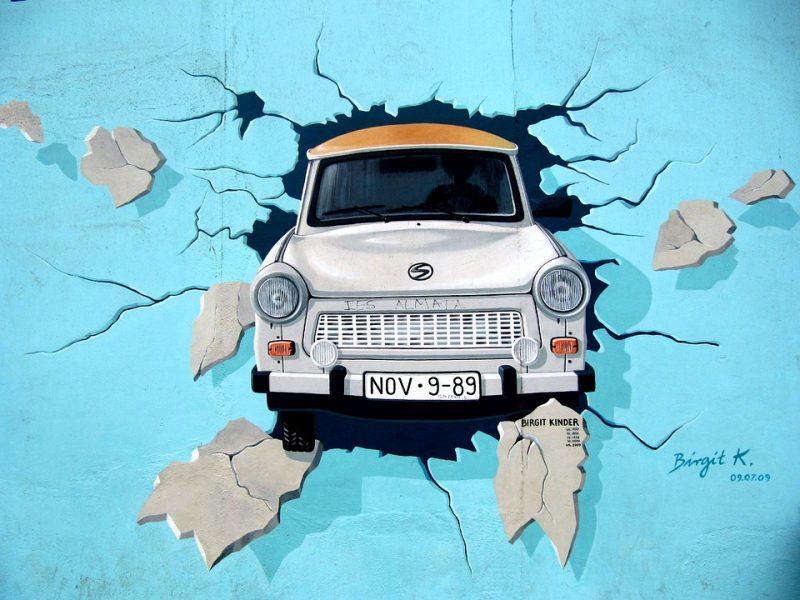 Muro de Berlin, Mural