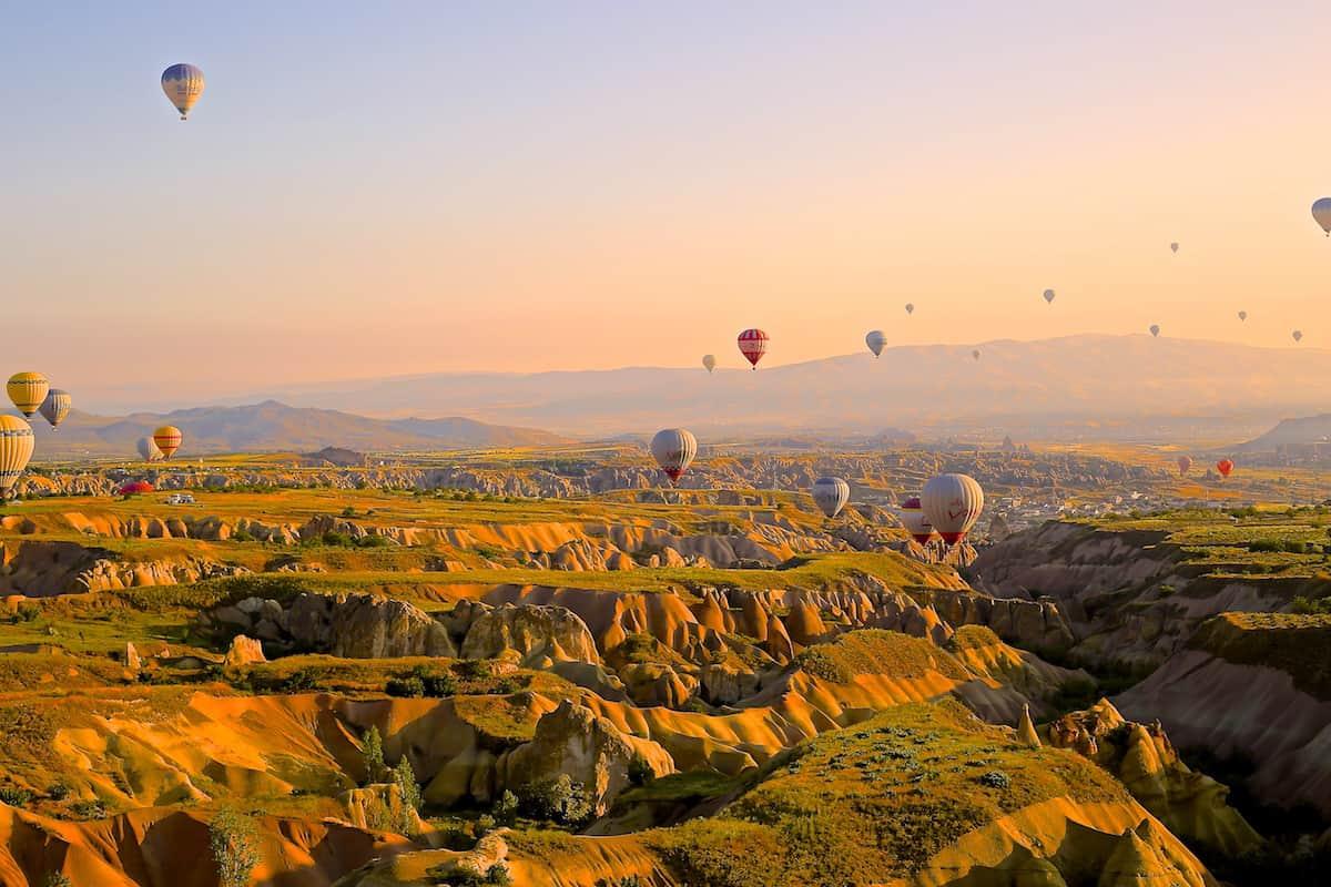 hot-air-ballons- Cappadocia