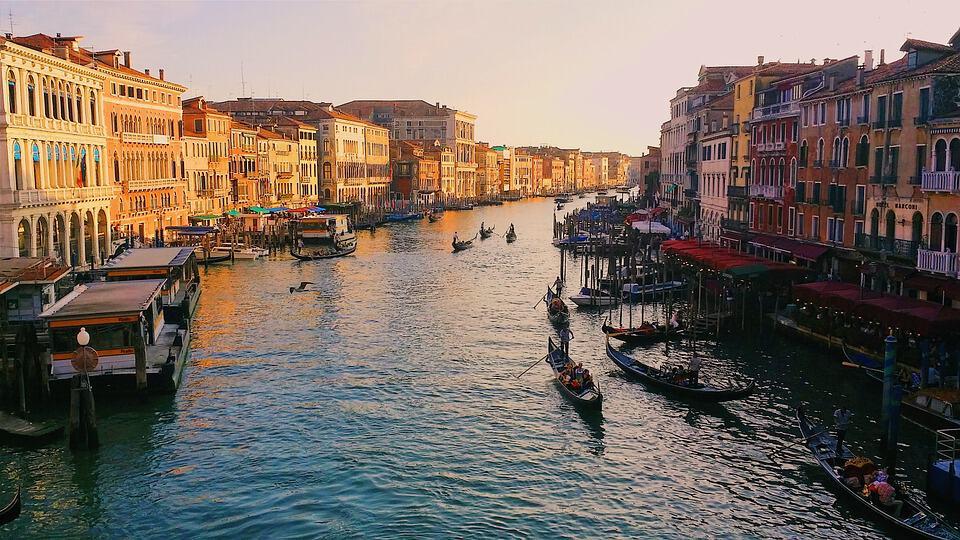 Canal Grande en Venecia