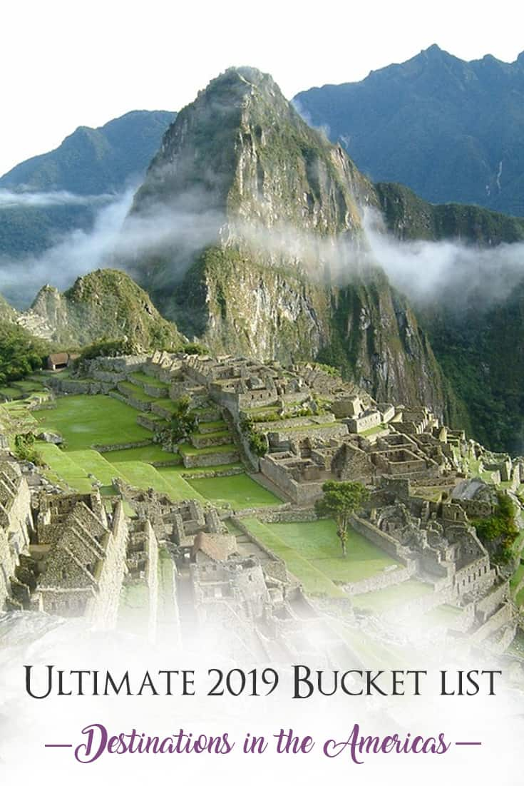 destinations in the Americas