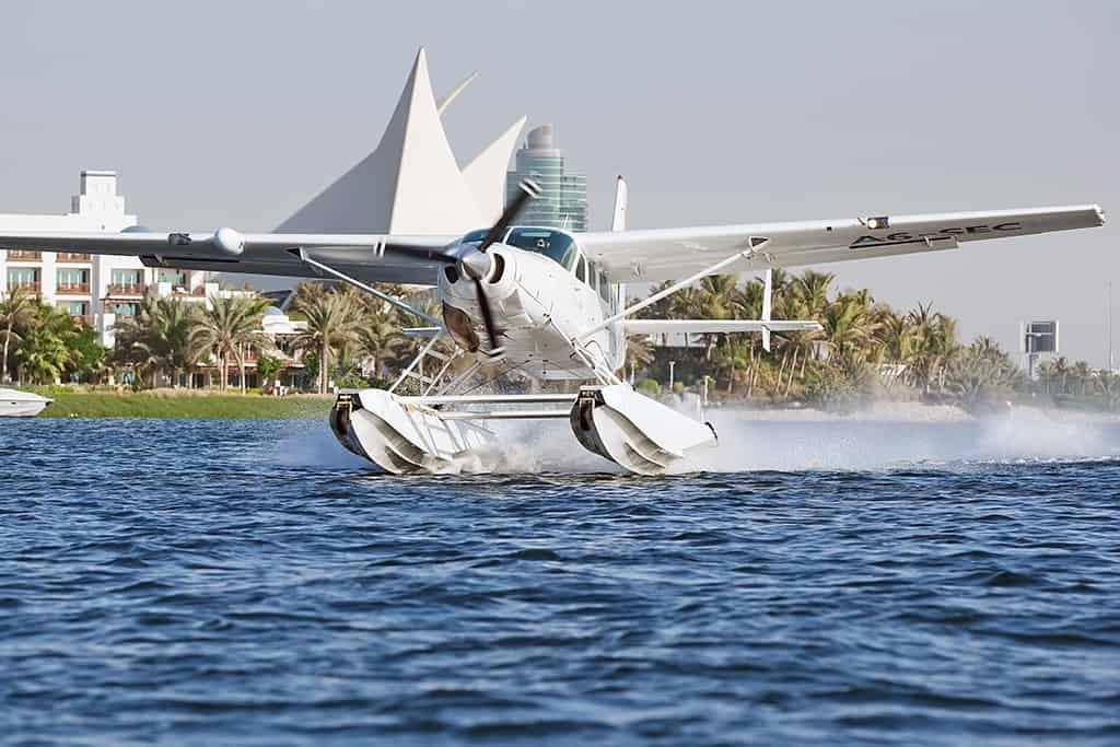 Abu Dhabi Seaplane Flight