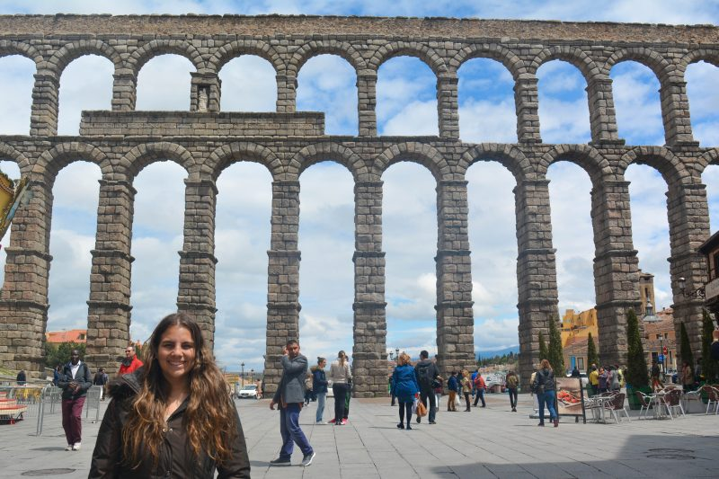 Aqueduct of Segovia, Espana